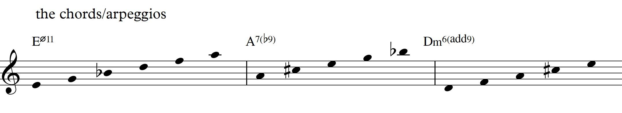 Diatonic approach 6 minor ii v i 7th chords sren ballegaard diatonic approach 6 minor ii v i diatonic 7th chords arpeggios hexwebz Choice Image