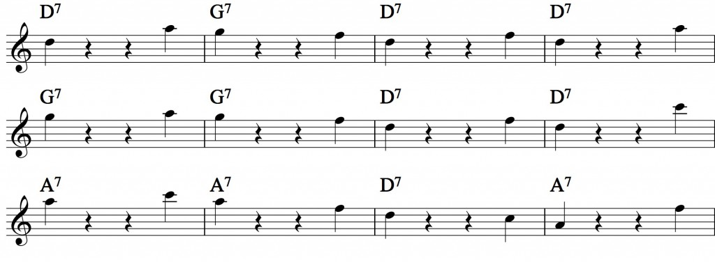 Blues - with a pentatonic scale_2