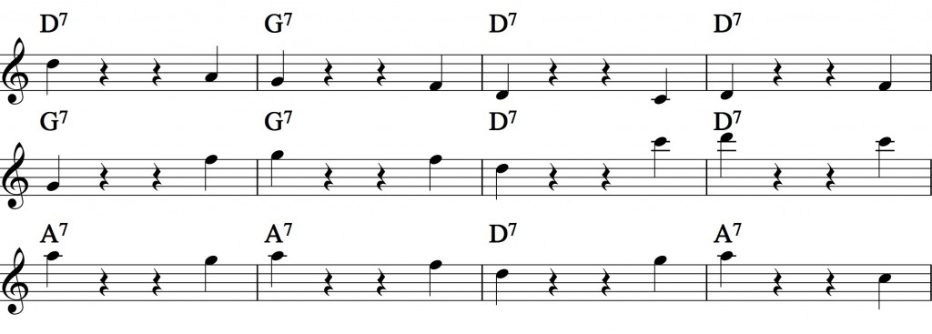Blues - with a pentatonic scale_4