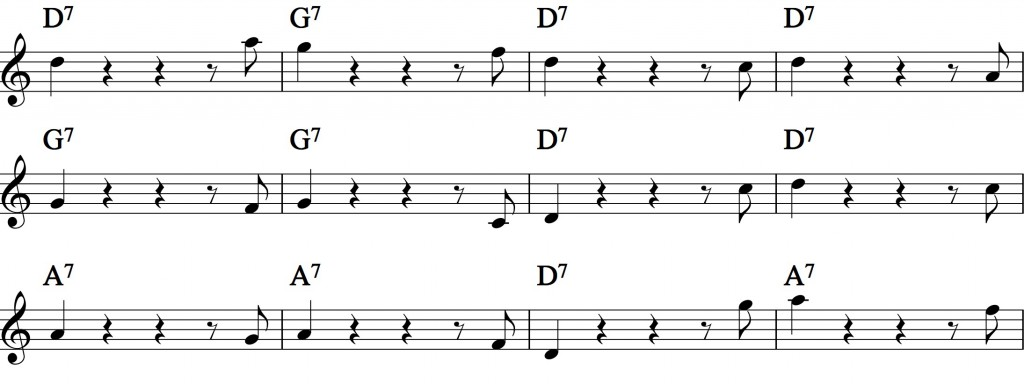 Blues - with a pentatonic scale_5