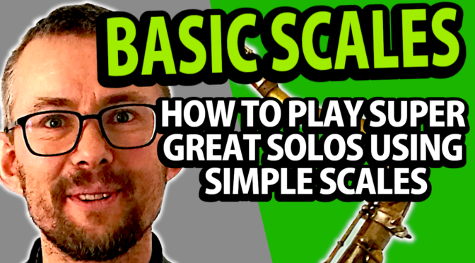 This is how to connect the scales to the chords